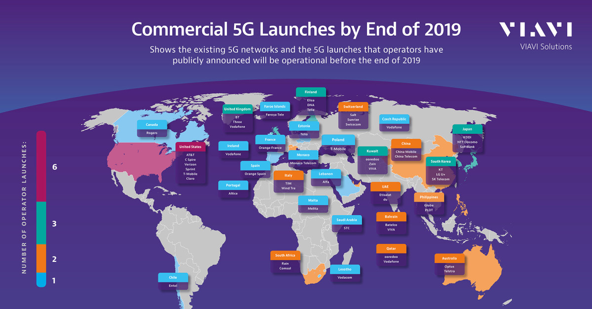 5g world map